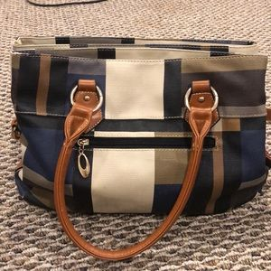 Handbags - Multi color cross body or shoulder purse